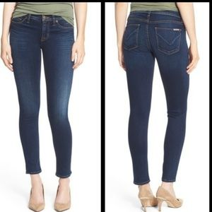 Hudson college Midrise skinny Jeans size 30
